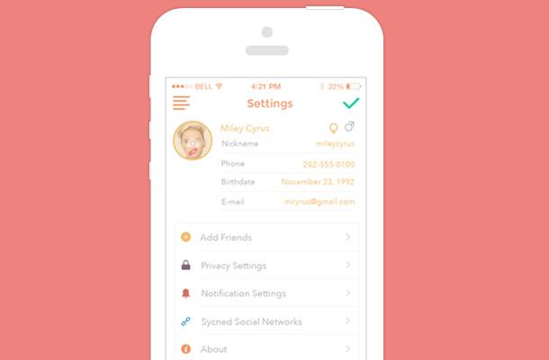 40个手机app应用设置界面ui设计图片